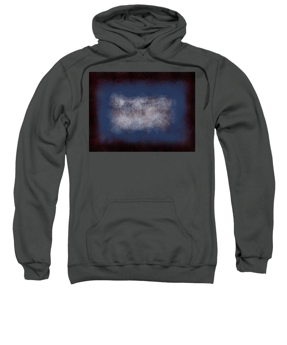 Black Sweatshirt featuring the painting Massanutten Vi by Julie Niemela