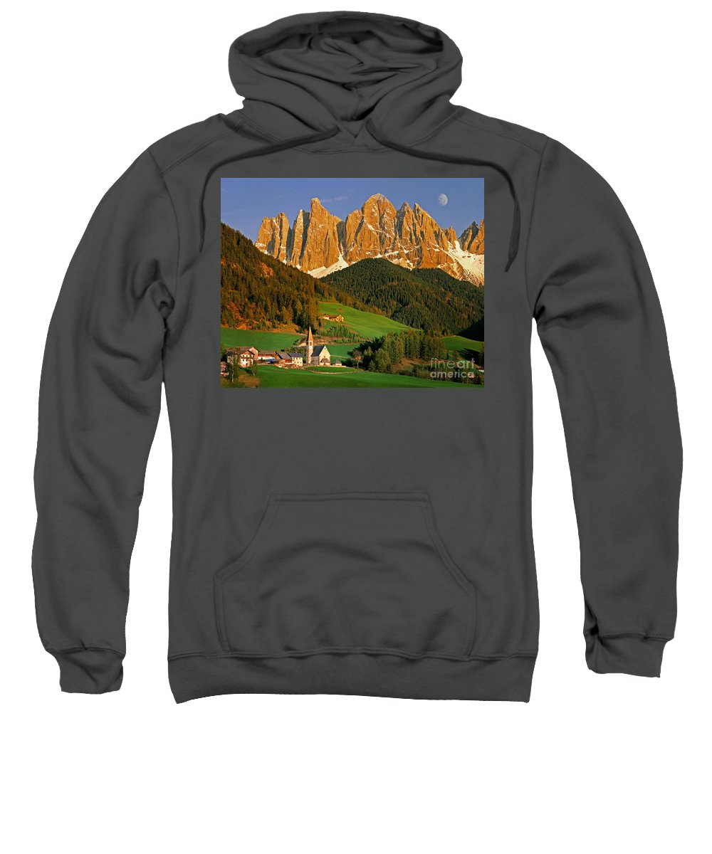 Italy Sweatshirt featuring the photograph Men Of Stone by Edmund Nagele