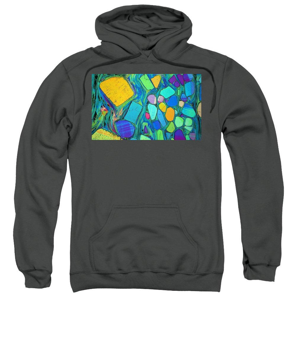 Science Sweatshirt featuring the photograph Art And Geology by Bernardo Cesare