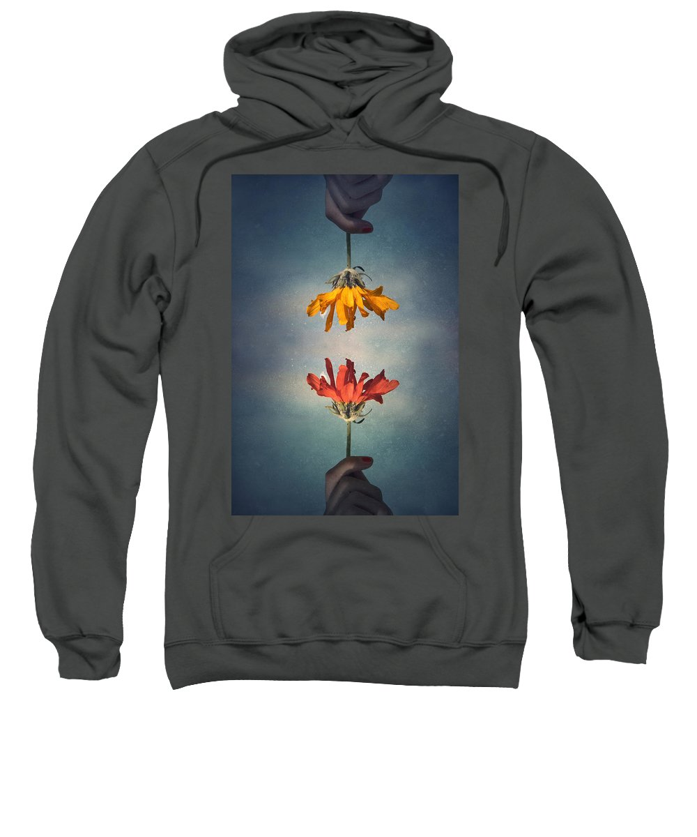 Middle Ground Sweatshirt featuring the photograph Middle Ground by Tara Turner