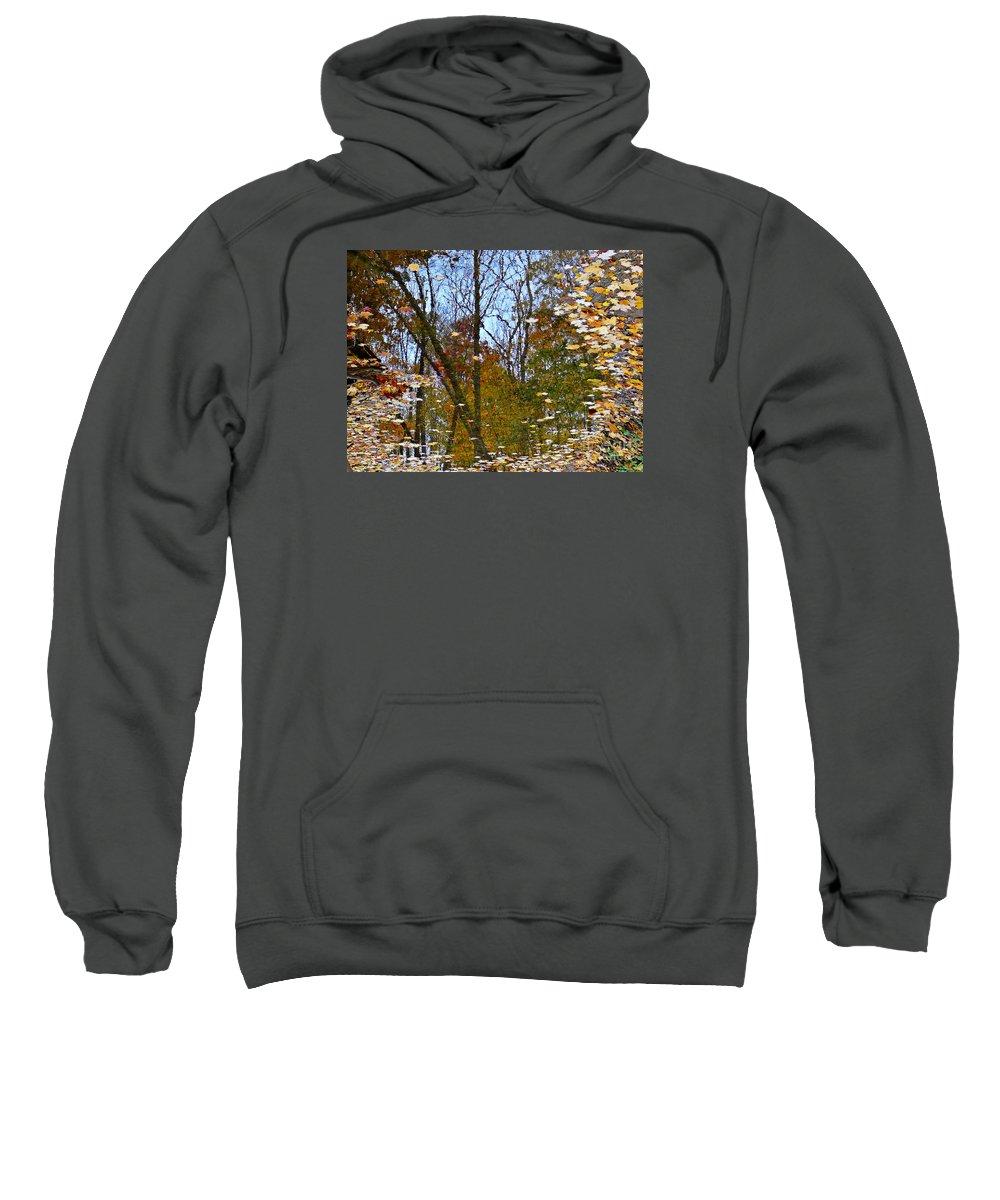 Mirror Sweatshirt featuring the photograph Mirror Mirror by Chris Sotiriadis