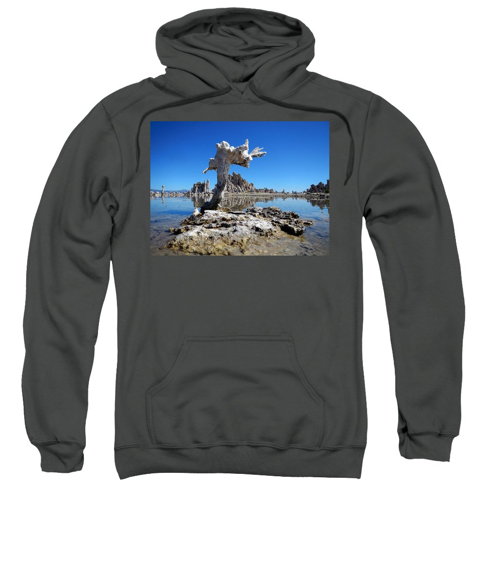 Mono County Sweatshirt featuring the photograph Mono Lake 5709 by Ron Brown Photography