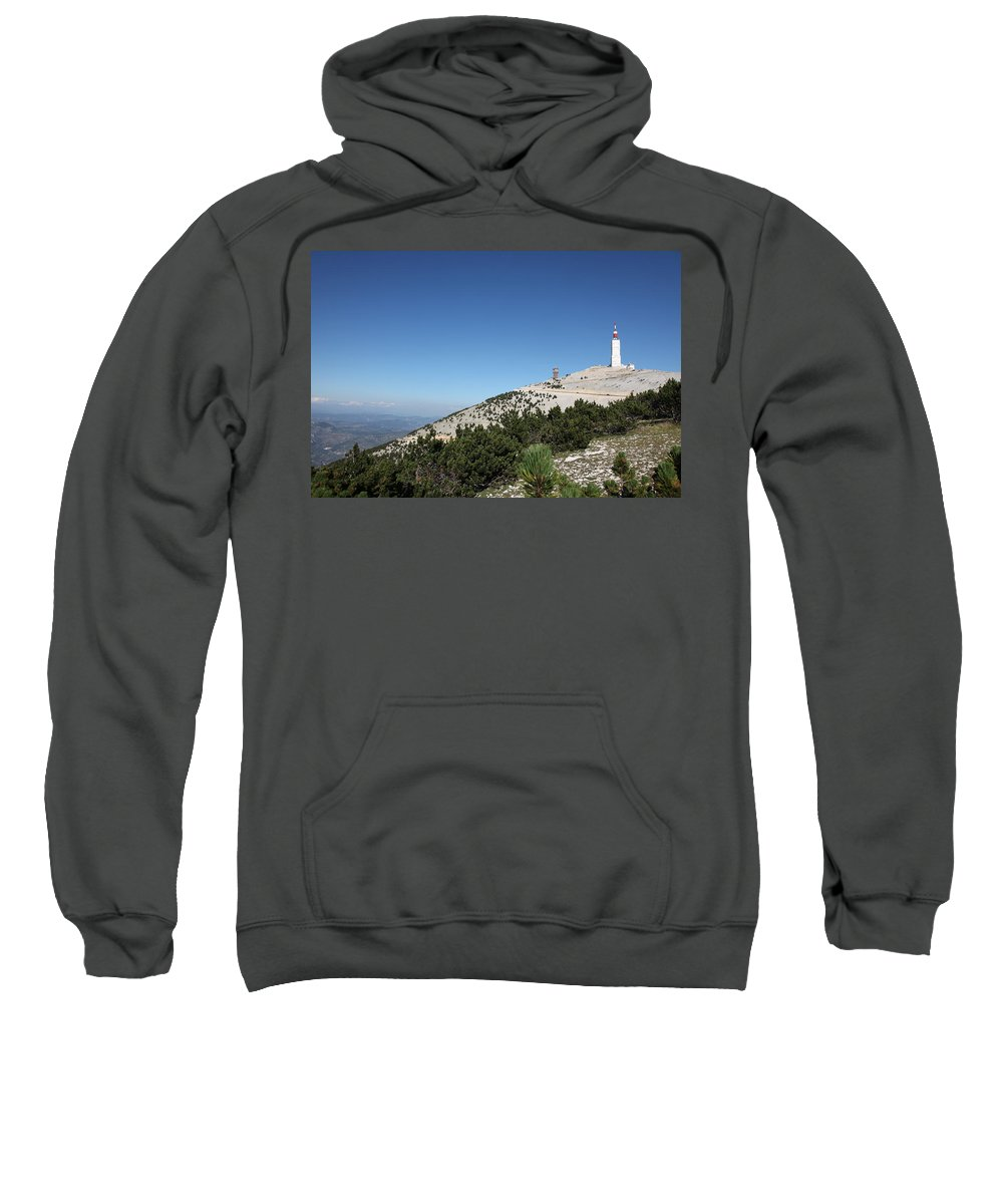 Panorama Sweatshirt featuring the photograph Mont Ventoux by Francesco Scali