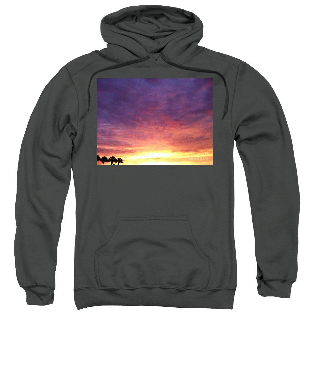 Landscape Sweatshirt featuring the photograph Morning Faith by Melissa Darnell Glowacki