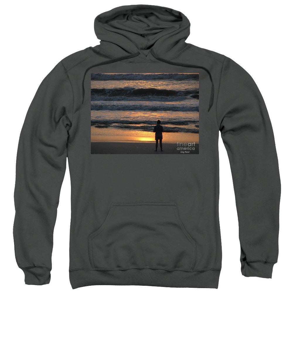Patzer Sweatshirt featuring the photograph Morning Has Broken by Greg Patzer