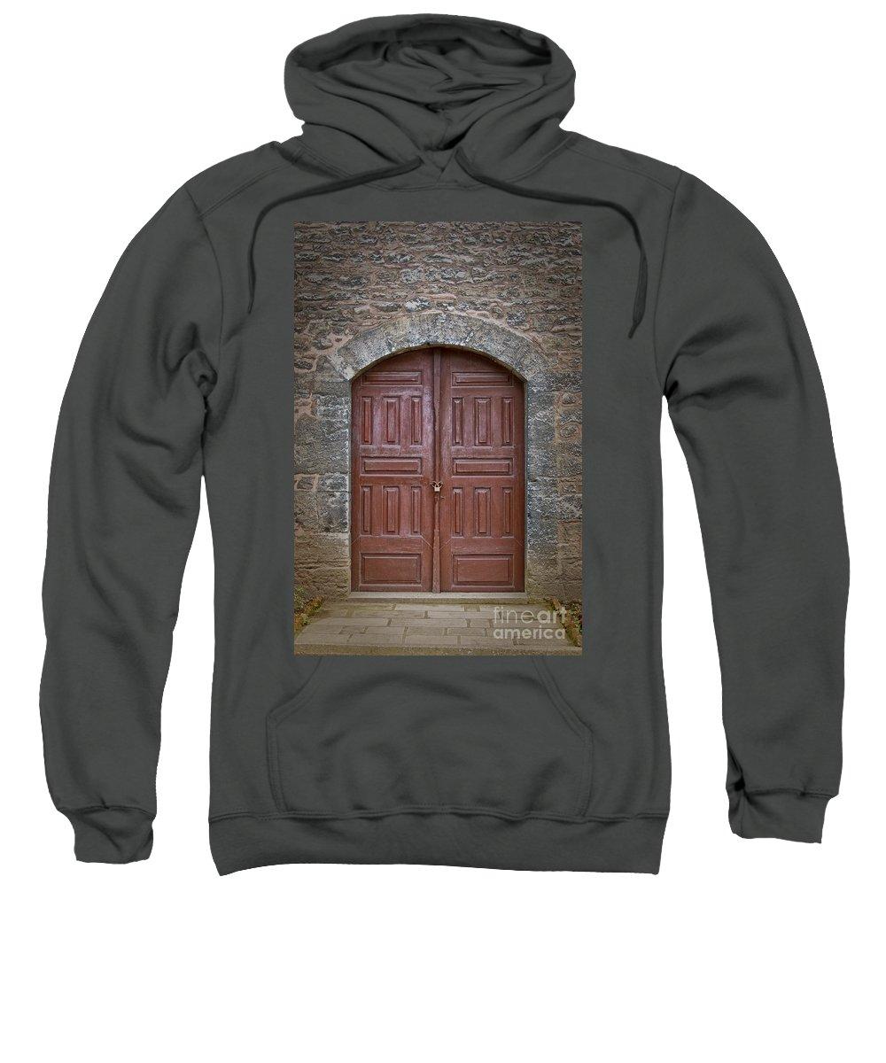 Door Sweatshirt featuring the photograph Mosque Doors 11 by Antony McAulay