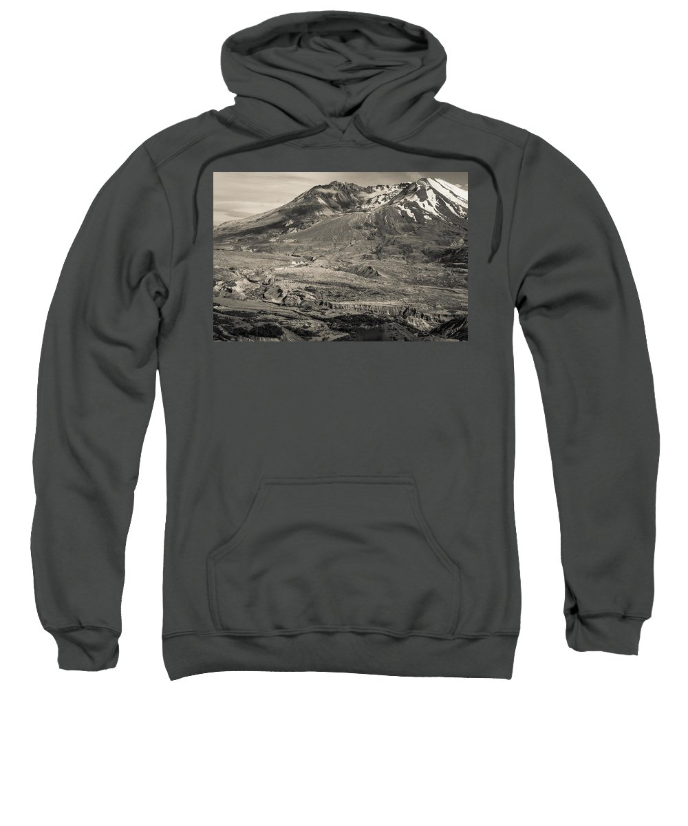 Mount St. Helens Sweatshirt featuring the photograph Mt. St. Helens by Scott Rackers