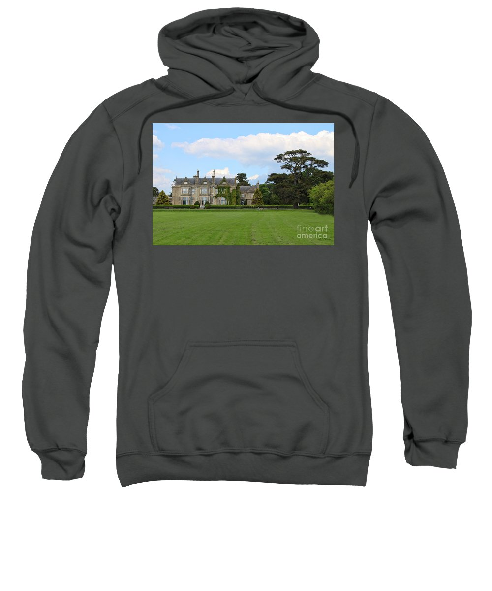 Muckross House Sweatshirt featuring the photograph Muckross House 7630 by Jack Schultz