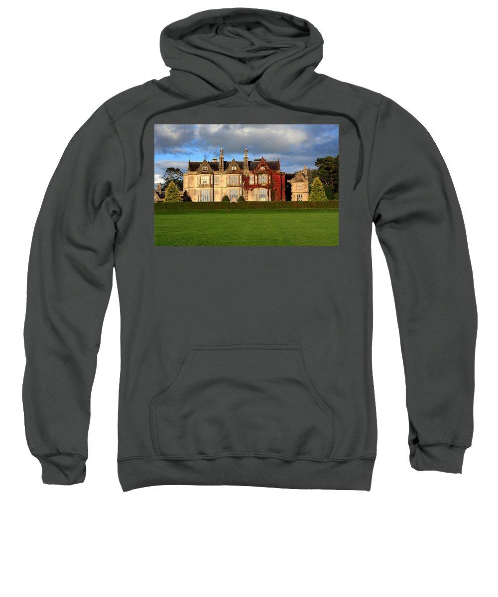 Ireland Sweatshirt featuring the photograph Muckross House - Killarney by Aidan Moran