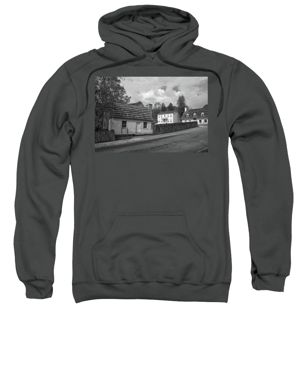Architecture Sweatshirt featuring the photograph Mugulpin House 10338 by Guy Whiteley