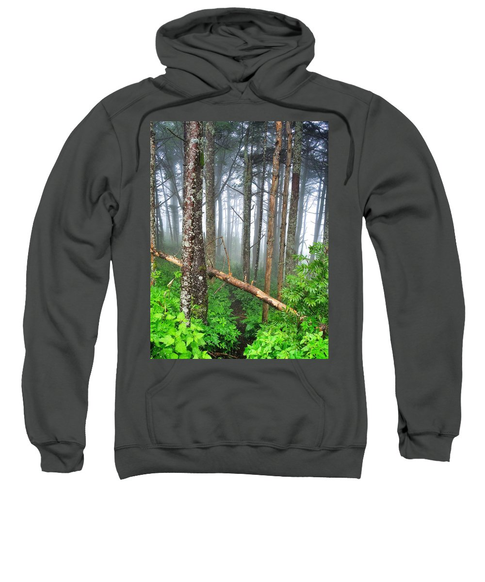 Mystic Sweatshirt featuring the photograph Mystic by Skip Hunt