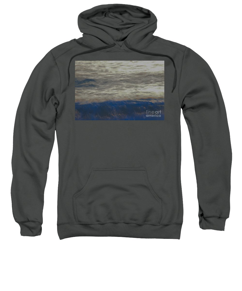 Landscapes Sweatshirt featuring the photograph Mystical Waters by Amanda Sinco