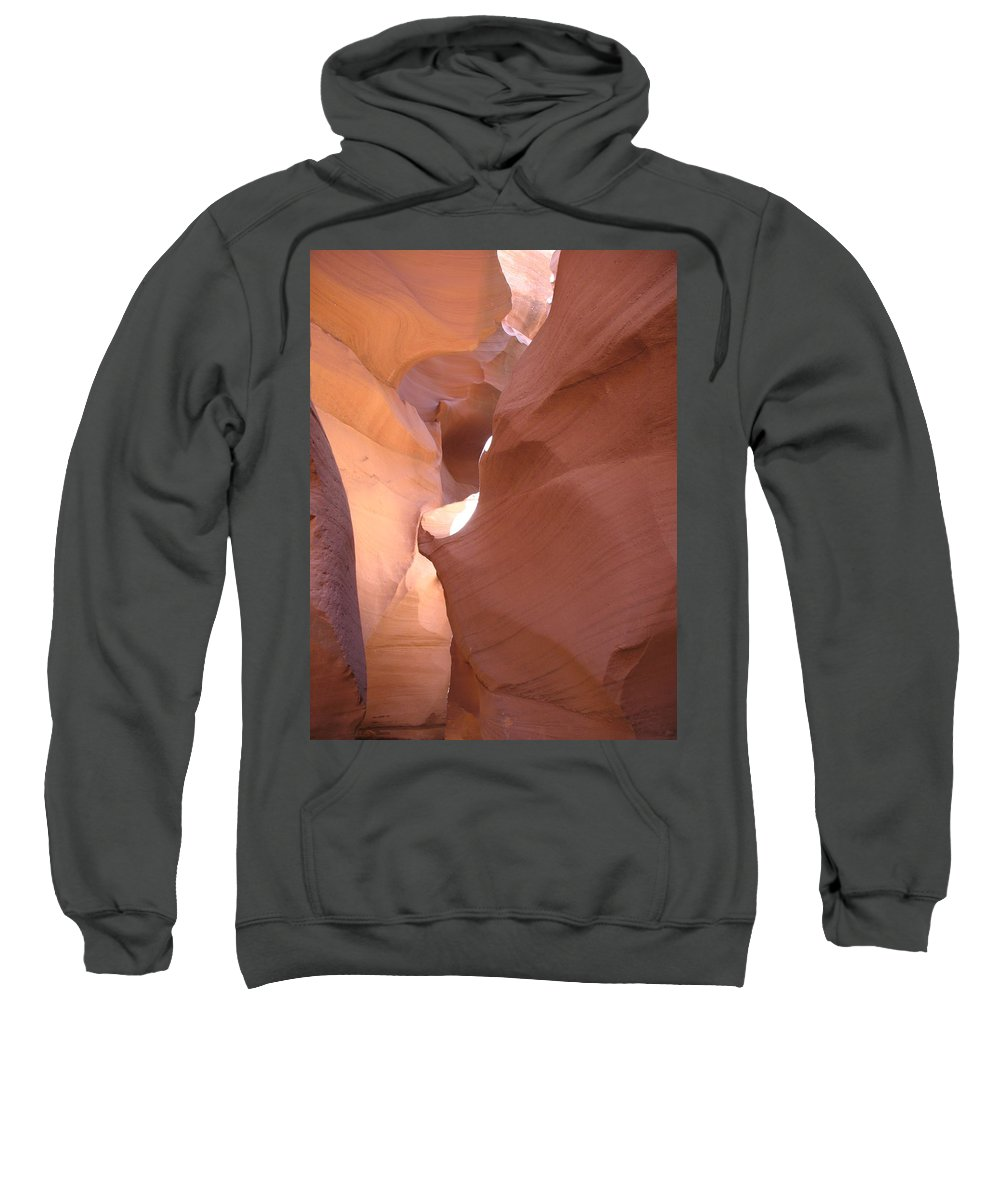 Canyon Sweatshirt featuring the photograph Narrow Canyon Viii - Antelope Canyon by Christiane Schulze Art And Photography