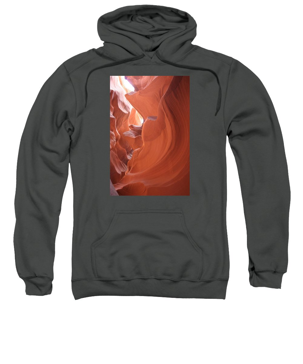 Canyon Sweatshirt featuring the photograph Narrow Canyon Xi by Christiane Schulze Art And Photography
