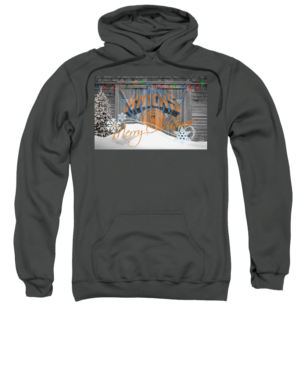 Knicks Sweatshirt featuring the photograph New York Knicks by Joe Hamilton