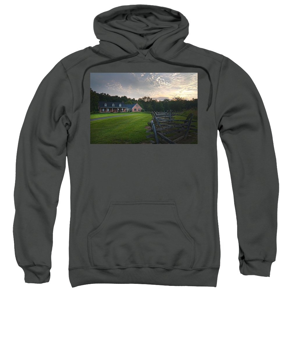 Sweatshirt featuring the photograph Nineteen by Randall Branham