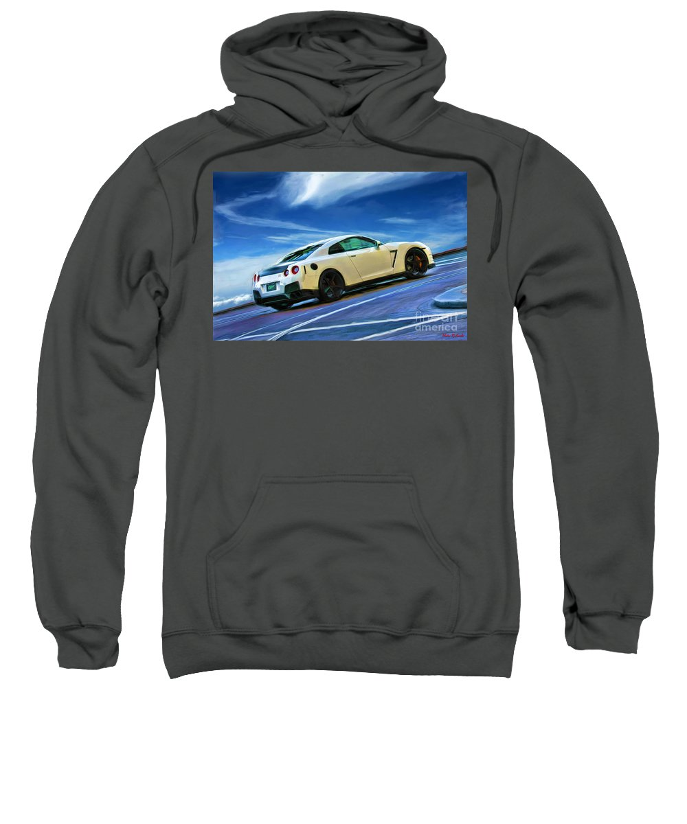 Nissan Gt-r Sweatshirt featuring the photograph Nissan Gt-r by Blake Richards