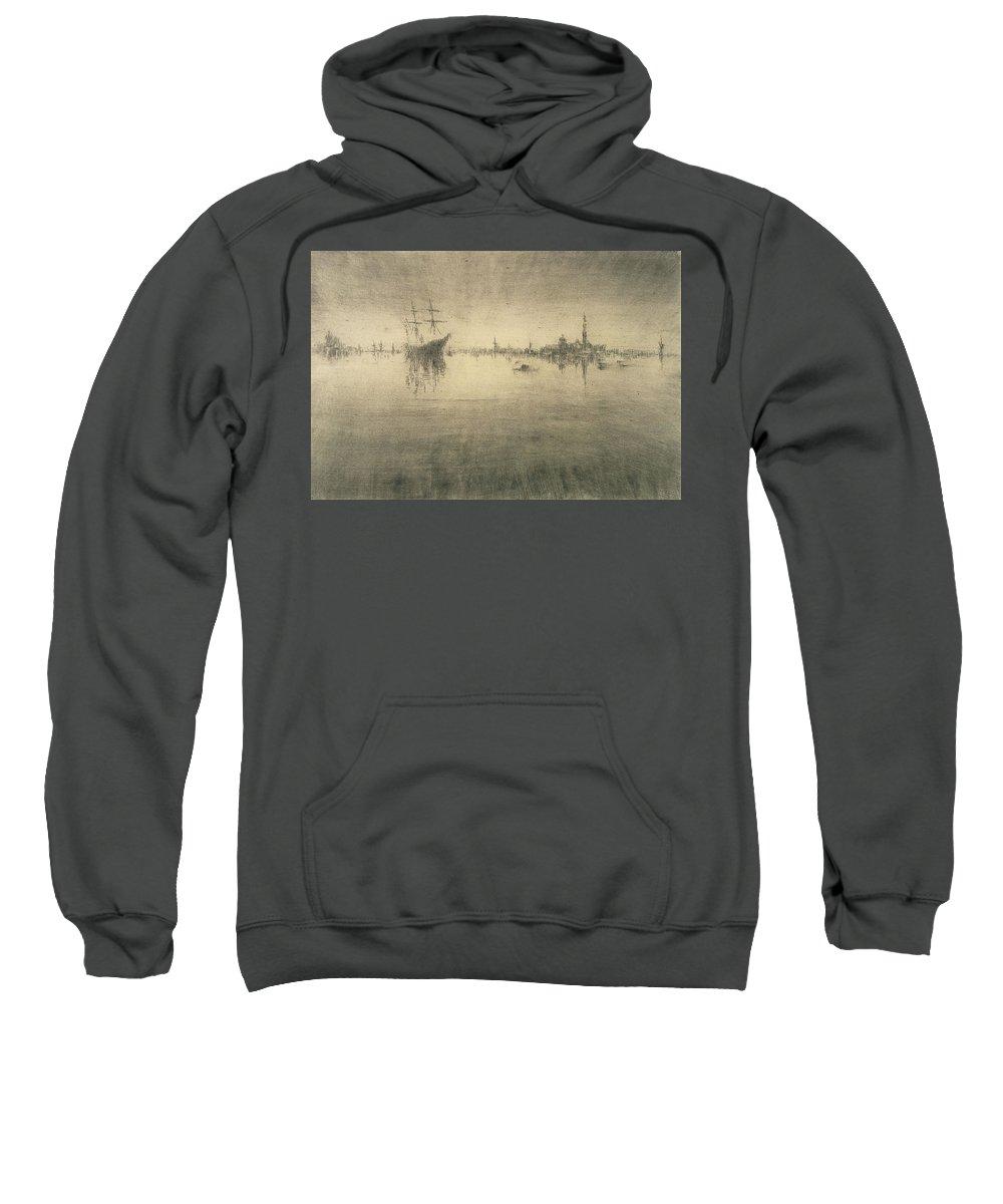 Boat Silhouette Drawings Hooded Sweatshirts T-Shirts