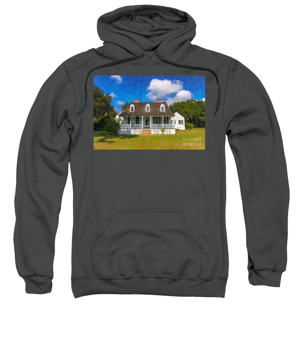 Charles Pinckney Sweatshirt featuring the photograph Nps Historic Site by Dale Powell
