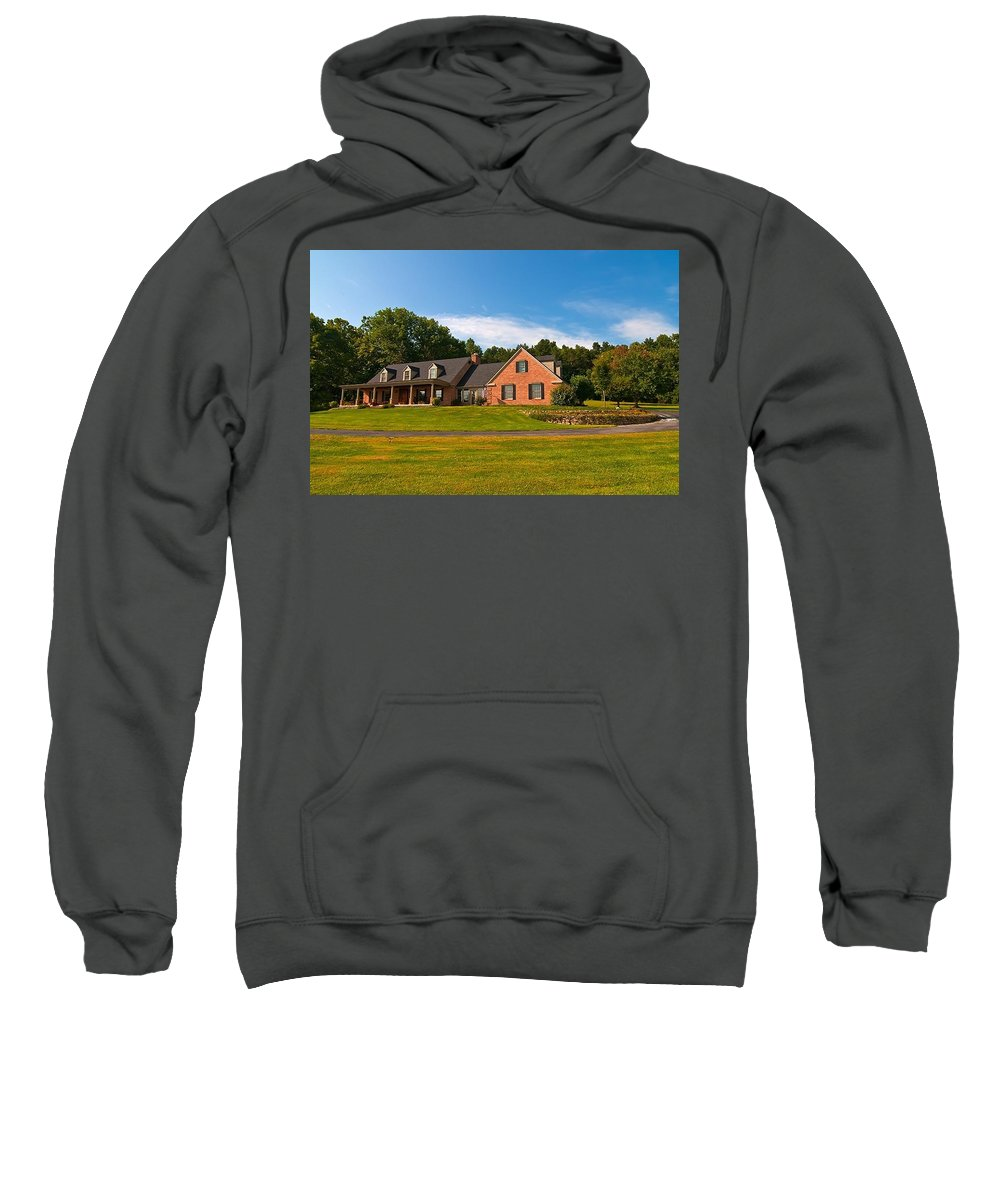 Sweatshirt featuring the photograph Number Two by Randall Branham