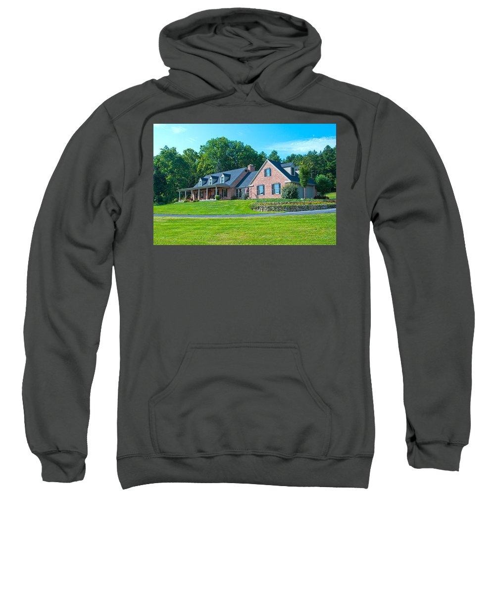 Sweatshirt featuring the photograph Number Zero by Randall Branham