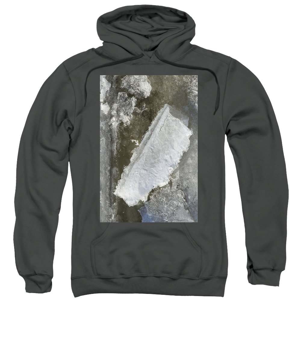 Winter Sweatshirt featuring the photograph Object Of Interest by David Stone