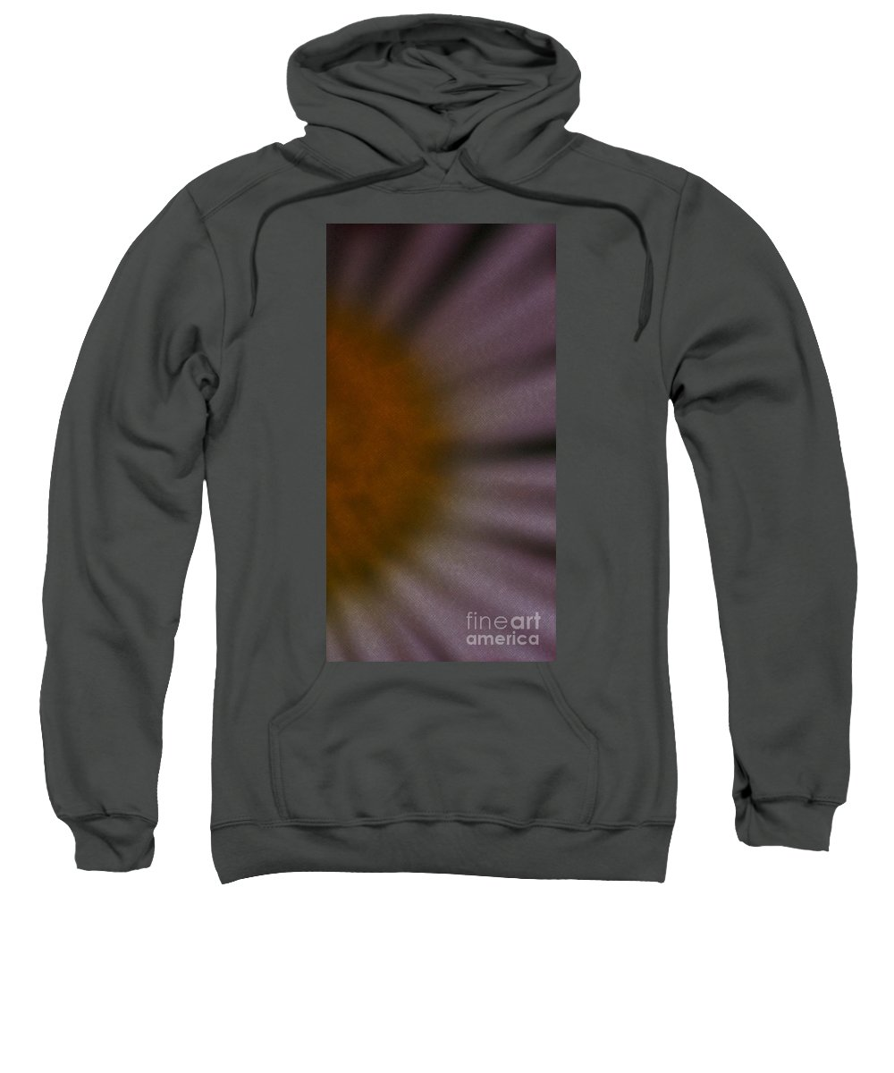 Flower Sweatshirt featuring the photograph Obscure by Linda Shafer