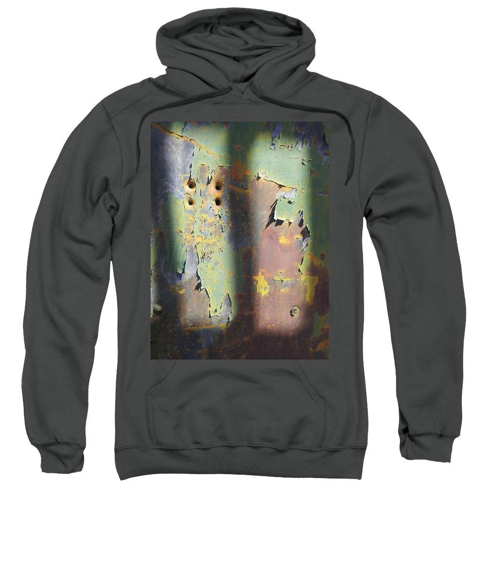 Street Art Sweatshirt featuring the photograph Old Door by Zac AlleyWalker Lowing