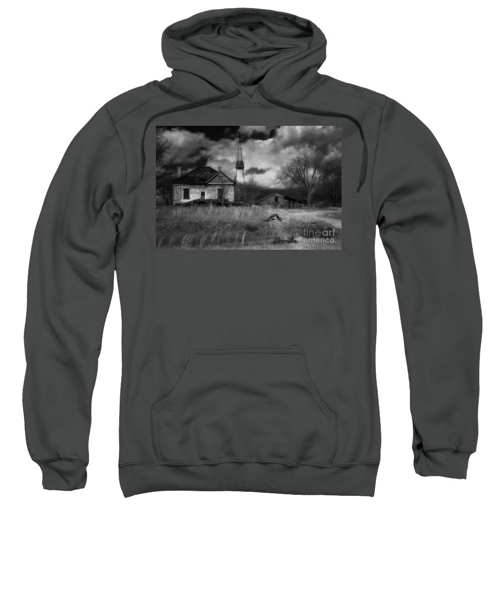 Farms Sweatshirt featuring the photograph Old Georgia Farm by Richard Rizzo