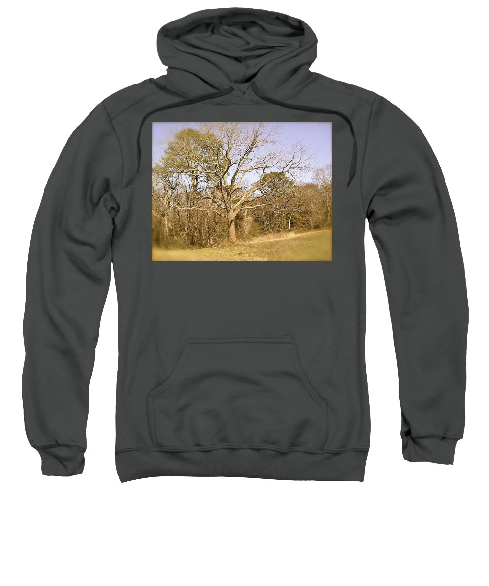 Old Sweatshirt featuring the photograph Old Haunted Tree by Chris W Photography AKA Christian Wilson