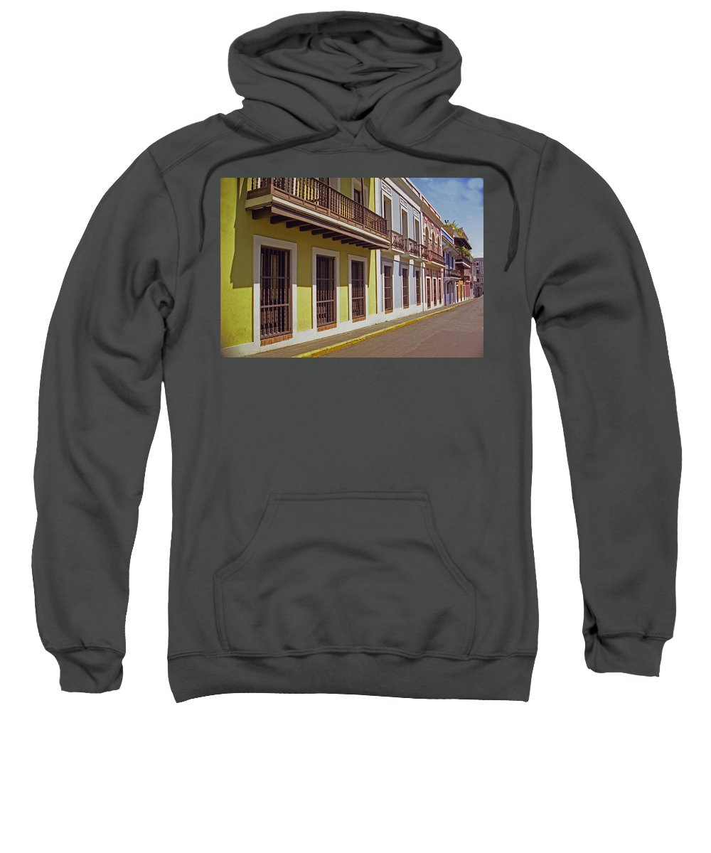 Old San Juan Sweatshirt featuring the photograph Old San Juan by Guillermo Rodriguez