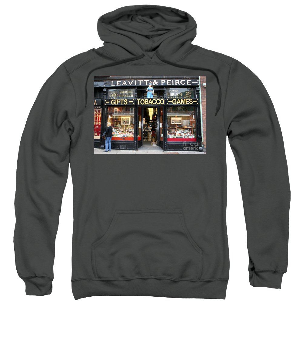 Old Shop Sweatshirt featuring the photograph Old Shoppe - Boston by Christiane Schulze Art And Photography