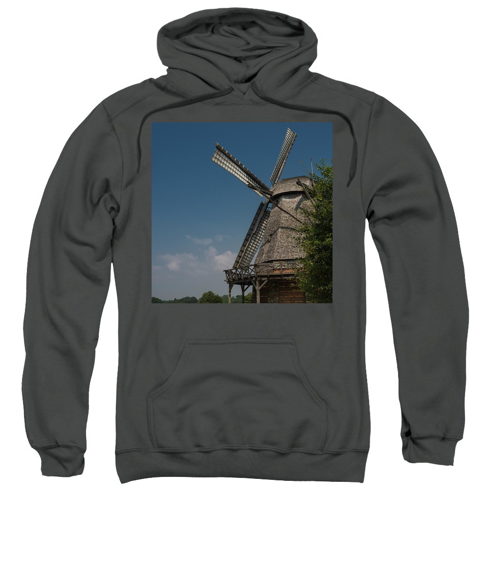 Building Sweatshirt featuring the photograph Old Windmill by TouTouke A Y