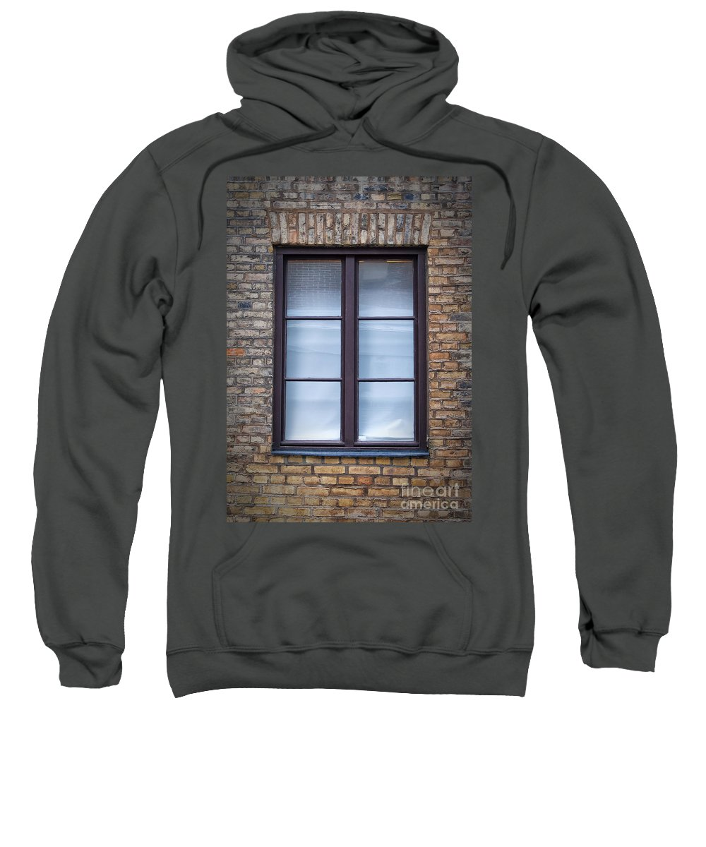 Window Sweatshirt featuring the photograph Old Window by Antony McAulay