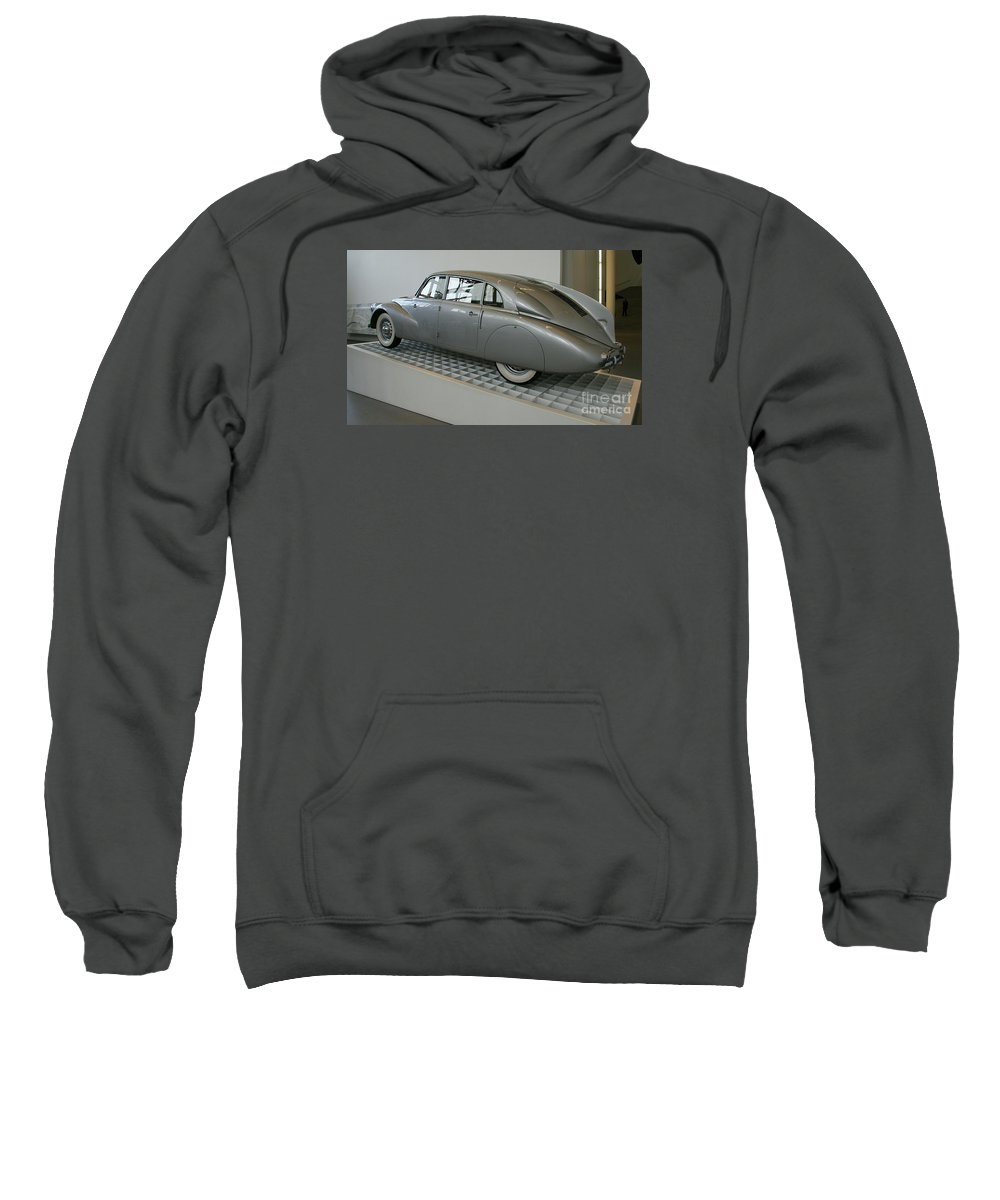 Oldtimer Sweatshirt featuring the photograph Oldtimer Tatra T87 by Christiane Schulze Art And Photography