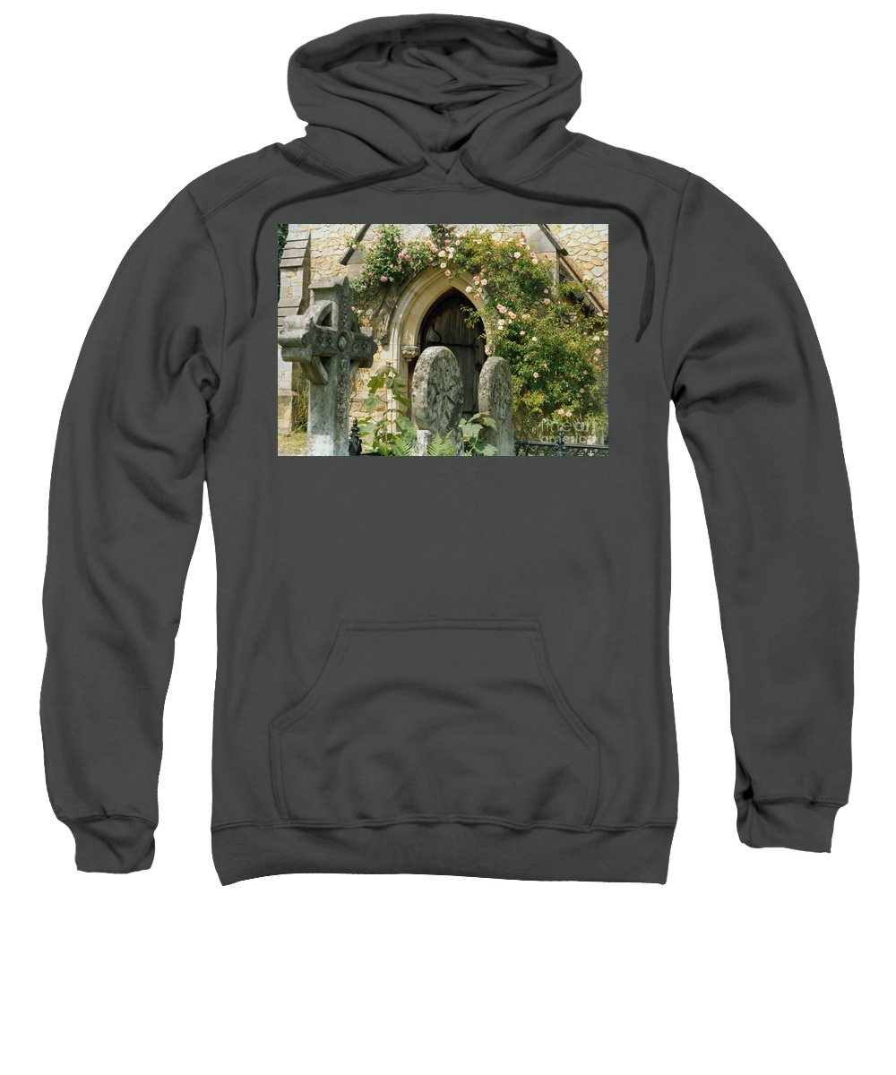 Church Sweatshirt featuring the photograph Open Paths by Christine Jepsen
