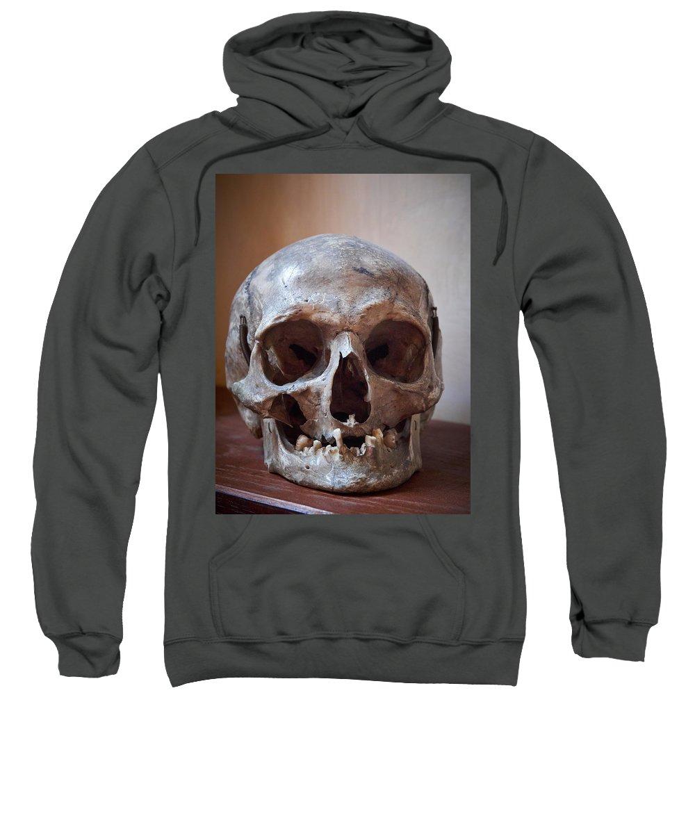 Alankomaat Sweatshirt featuring the photograph Original Model Het Rembranthuis Amsterdam by Jouko Lehto