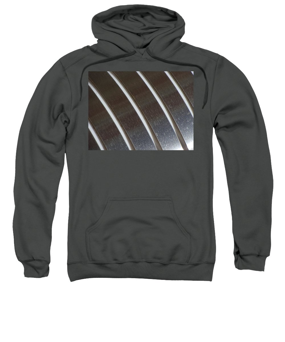 Abstract Design Sweatshirt featuring the photograph Outer Rings by Ira Shander