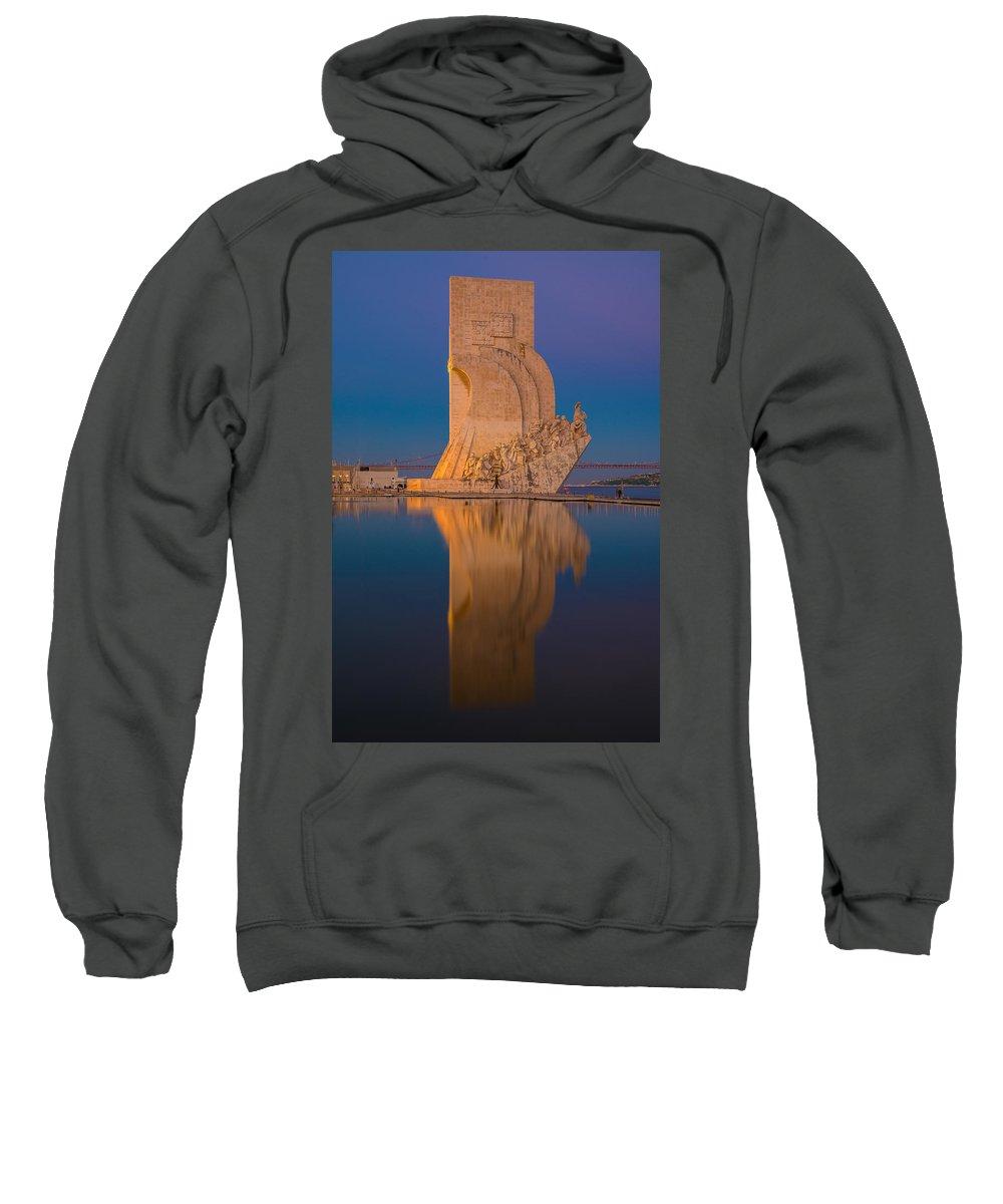 Padrao Dos Descobrimentos Sweatshirt featuring the photograph Padrao Dos Descobrimentos by Mark Robert Rogers