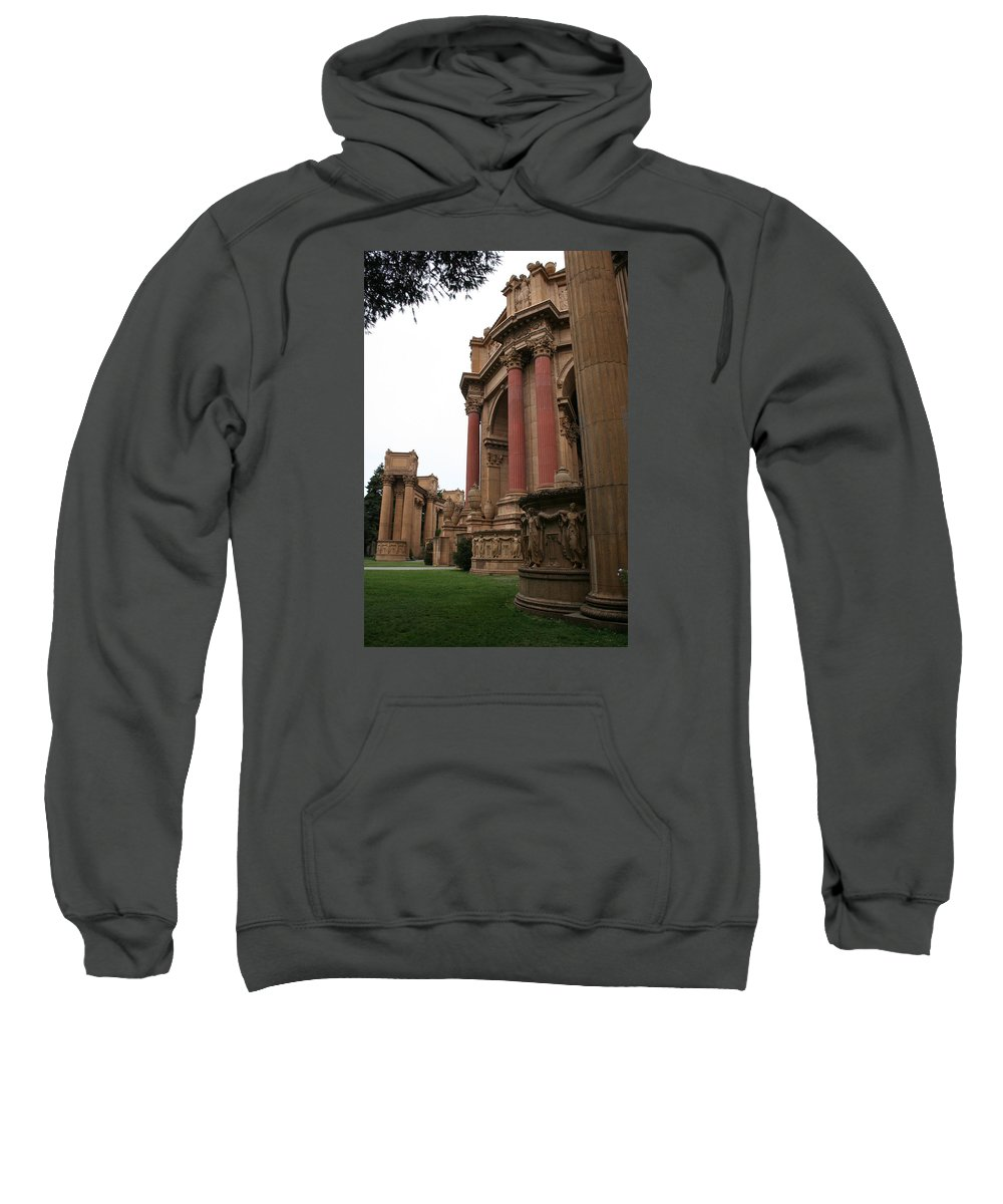 San Francisco Sweatshirt featuring the photograph Palace Of Fine Arts by Christiane Schulze Art And Photography