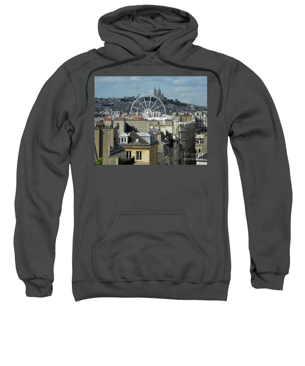 Abstract Sweatshirt featuring the photograph Parisscope by Lauren Leigh Hunter Fine Art Photography