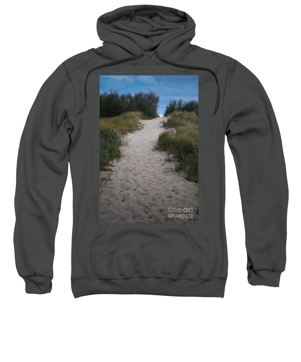 Path Sweatshirt featuring the photograph Path To The Dunes by Pat Lucas