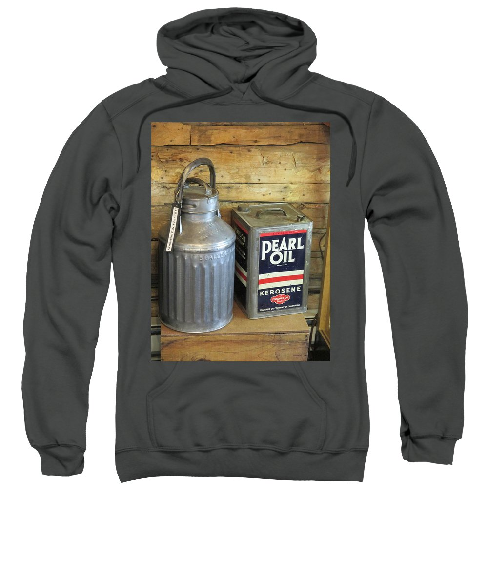 Pearl Sweatshirt featuring the photograph Pearl Zero by Jeff Gater