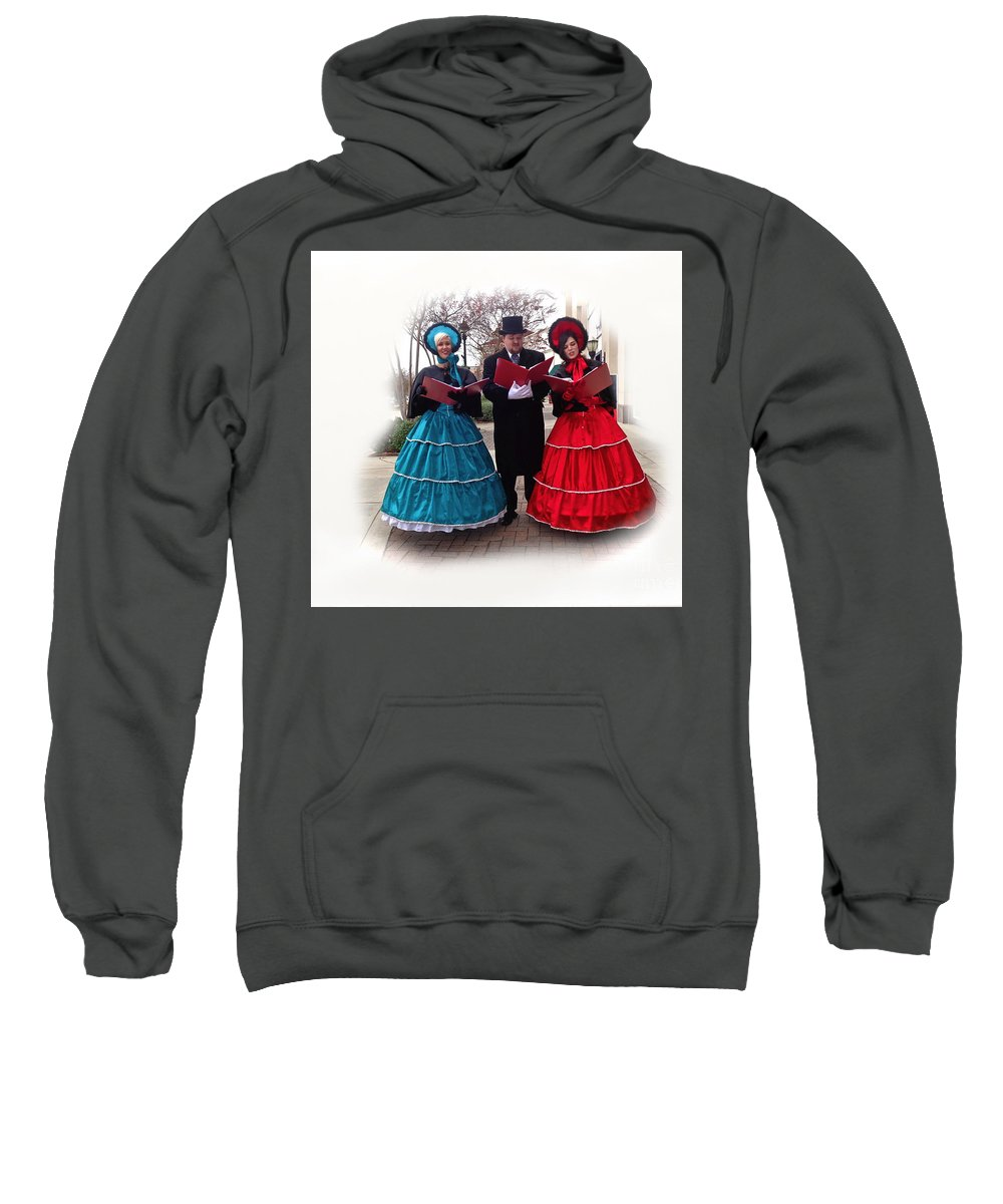 Singers Sweatshirt featuring the photograph Sing Sing Sing by Saundra Myles