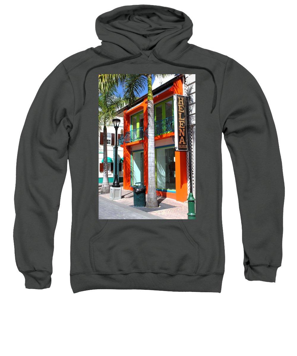 Urban Sweatshirt featuring the photograph Philipsburg by Bryan Noll