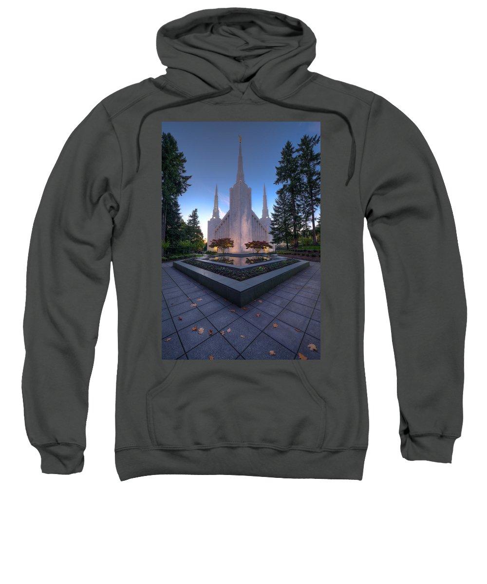 Portland Temple Photographs Hooded Sweatshirts T-Shirts