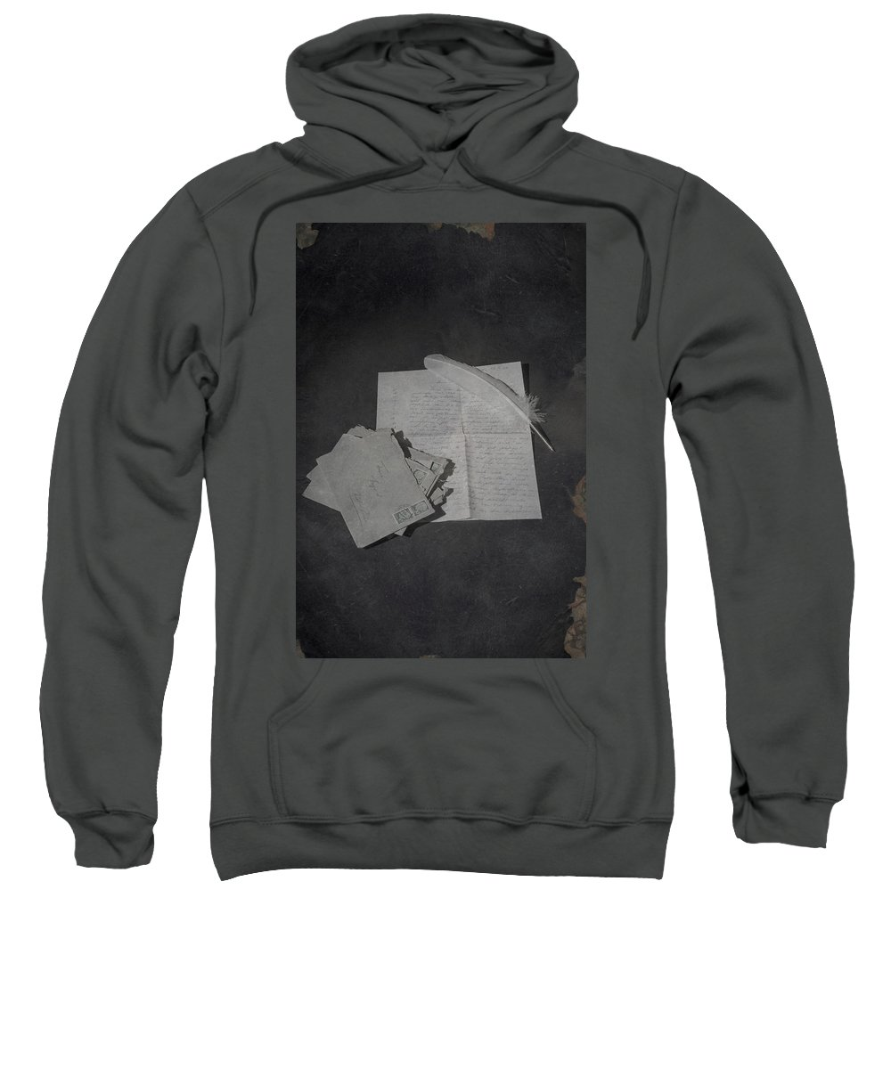 Quill Sweatshirt featuring the photograph Post by Joana Kruse