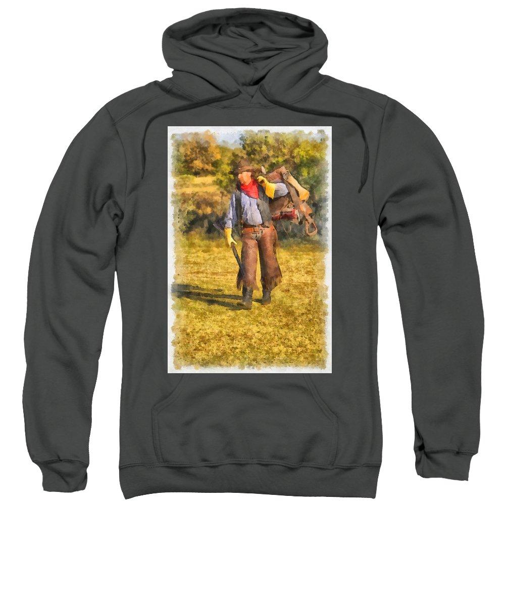 American Sweatshirt featuring the photograph Preparation by Jack Milchanowski