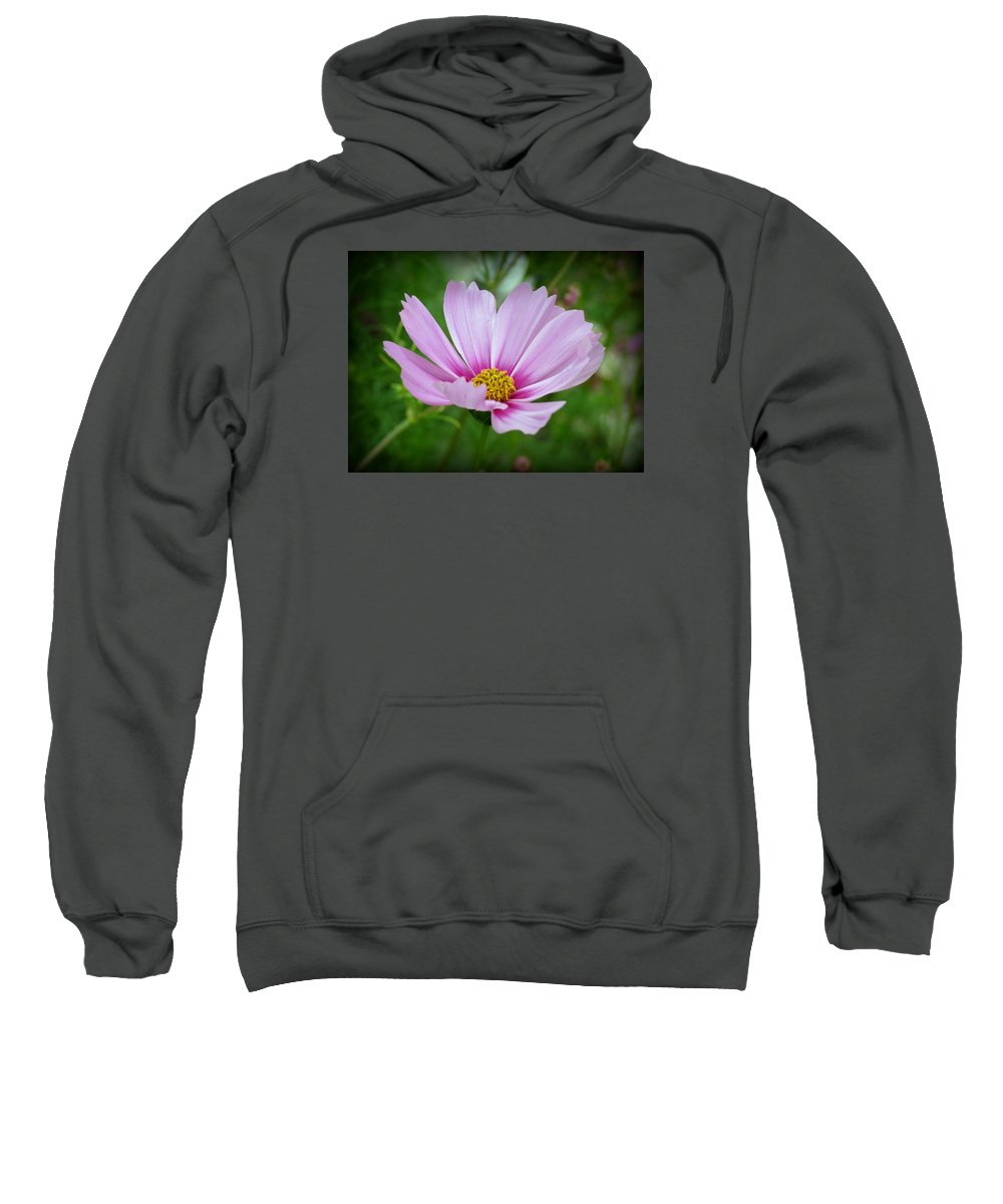 Floral Sweatshirt featuring the photograph Pretty Little One by Kay Novy