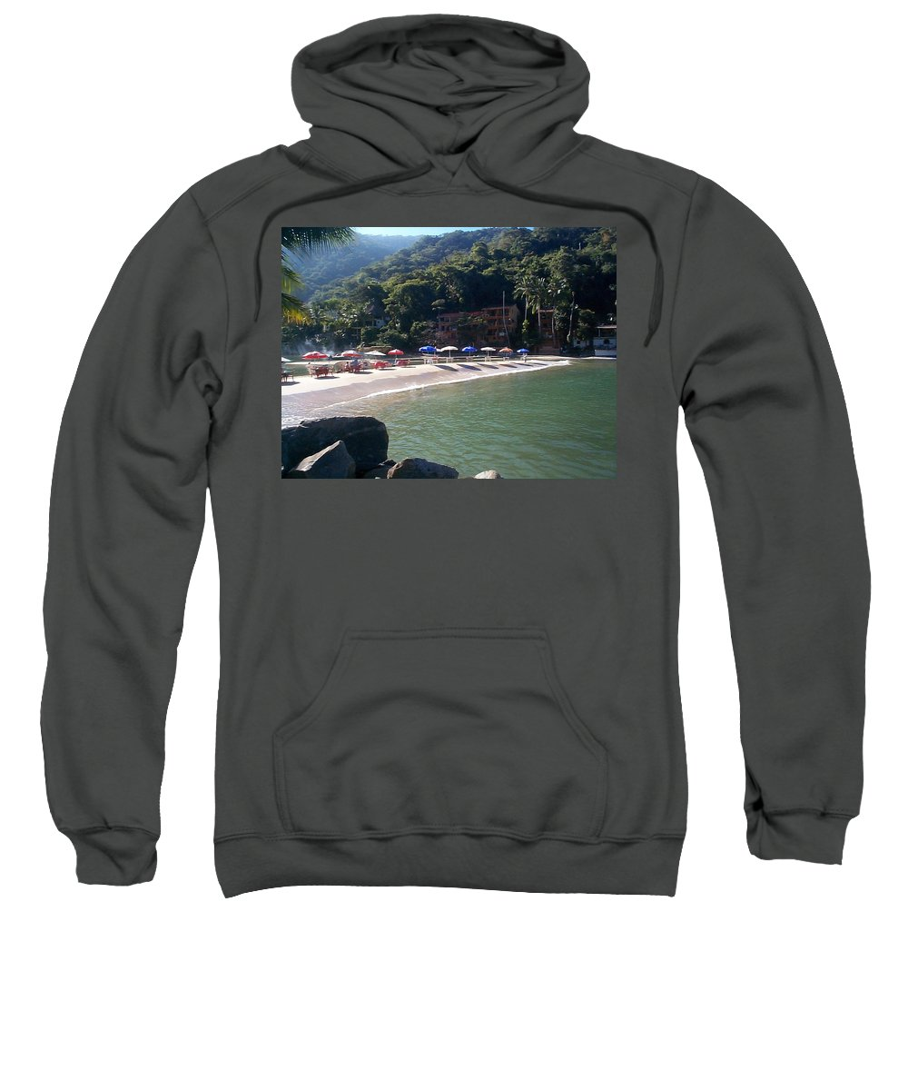 Mexico Sweatshirt featuring the photograph Pv 2 by Kimberly Maxwell Grantier